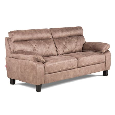 Taupe em living y estar sof s rosen chile for Sofa rosen mira 3 cuerpos