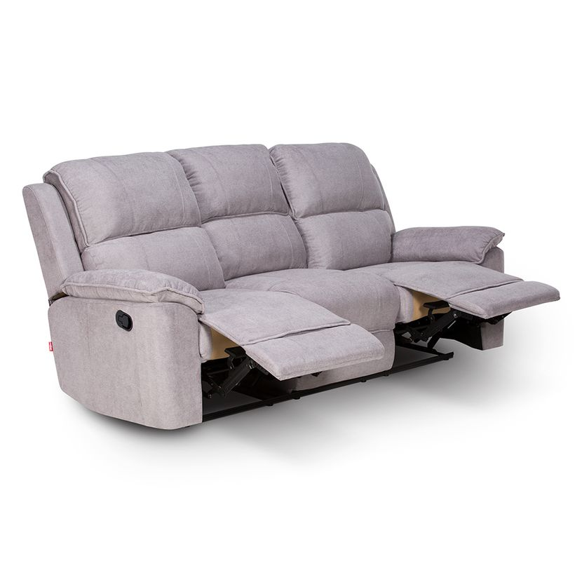 Sofa reclinable 3 cuerpos rosen for Sofa 3 cuerpos salerno