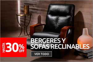 Bergeres y Sofás Reclinables